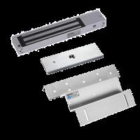 Kit de Chapa Electromagnética   600Lbs. CON sensor + Montaje Z - L  ZKTeco (AL-280(LED)+ZL)