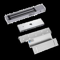 Kit de Chapa Electromagnética   300Lbs. CON sensor + Montaje Z - L  ZKTeco (YLI YM180+L+Z)