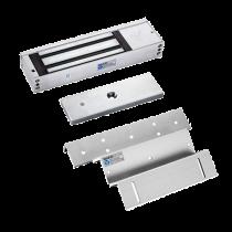 Chapa Electromagnética 1,200Lbs. con Sensor + Montaje Z - L YLI (YM500+MBK500ZL)