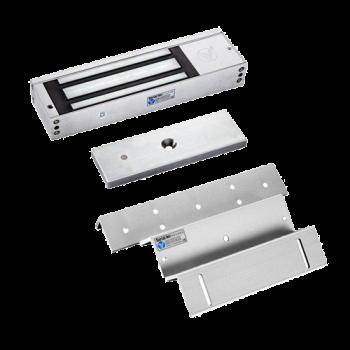 Kit de Chapa Electromagnética 1,200Lbs. SIN sensor + Montaje Z - L YLI (YM500+MBK500ZL)