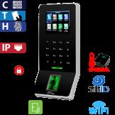 Control de Acceso por Huella, Tarjeta y Código, SilkId Negro ZKTeco (F22/ID/SI/B/ADMS)