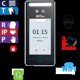 Reloj Marcador y Control de Acceso por Rostro, Palma, Tarjeta y Código / MEDICIÓN DE TEMPERATURA / ZKTeco (SpeedFace V4L/T)