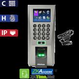 Reloj Marcador y Control de Acceso por Huella, Tarjeta y Código, Color ZK OUTLET (F18)