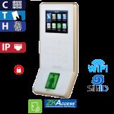 Control de Acceso por Huella, Tarjeta y Código SilkId Blanco ZKTeco (F22/ID/SilkID/WH)