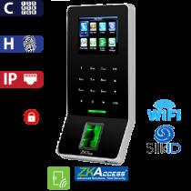 Control de Acceso por Huella y Código, SilkId Negro ZKTeco (F22/SilkID/BL)
