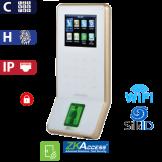 Control de Acceso por Huella y Código SilkId Blanco ZKTeco (F22/SilkID/WH)