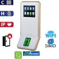 Control de Acceso por Huella y Código, SilkId Blanco ZKTeco (F22/SilkID/WH)