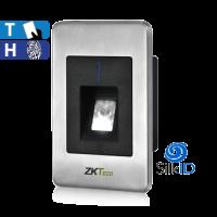 Lectora Silk ID de Tarjeta y Huella, Interior, RS-485 ZKTeco (FR1500)