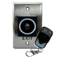 Exit Button NO Touch w/Remote Control ZKTeco (K2)
