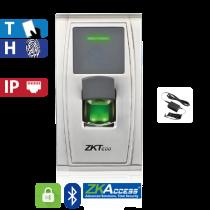 Control de Acceso por Huella y Tarjeta / Bluetooth, Heavy Duty ZKTeco (MA300-BT)