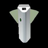 Molinete de Doble Ala de Ángel para un Carril Adicional de Acceso ZKTeco (FBL4200)