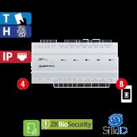 Panel de Acceso 8 Lectoras 4 Puertas ZKTeco (INBIO460PRO)