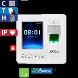 Control de Acceso por Huella, Tarjeta y Código, Color ZKTeco (SF100/ID)