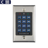 Acceso por Código Iluminado, Sin Registros, Seco-Larm (SK-1131-SPQ)
