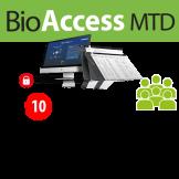 Software de Acceso BioAccess MTD / 2,000 Usuarios -  10 Equipos ZKTeco (ZKBA-TA-P10)