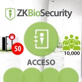 -Software de Acceso ZKBioSecurity V5000 (Licencia para 50 Puertas)  ZKSoftware (ZKBS-AC-P50)