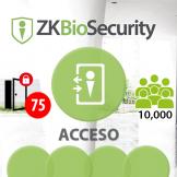 Software de Acceso ZKBioSecurity V5000 (Licencia para  75 Puertas)  ZKSoftware (ZKBS-AC-P75)