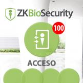 Software de Acceso ZKBioSecurity 3.0 (Licencia para 100 Puertas) ZKSoftware (ZKBS-AC-P100)