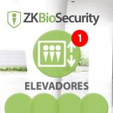 Software de Elevadores (Licencia por Cabina) para ZKBioSecurity V5000 ZKTeco (ZKBS-ELE-ONLINE-S1)