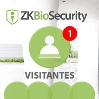 Software de Visitantes (Licencia 1 Estación) para ZKBioSecurity 3.0 (ZKBS-VIS-P1)