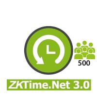 Software / Licencia para ZKTimeNet 3.0  500 Empleados por 3 años (ZKTIMENET3.0-500)