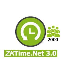Software / Licencia para ZKTimeNet 3.0 2,000 Empleados por 3 años (ZKTIMENE3.0-2000)