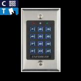 Acceso por Código y Tarjeta Iluminado, Sin Registros, Seco-Larm (SK-1131-SPQ)