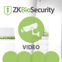 Software de Video (Liencia por Camara / Max 64)  para ZKBioSecurity 3.0 ZKTeco (ZKBio3.0/Vide)
