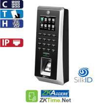 Access Control - FingerPrint, Proximity and Password, Color ZK (F21/ID)