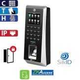 Control de Acceso por Huella, Tarjeta y Código SilkID y Camara ZKTeco (F21/ID)