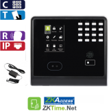 Reloj Marcador y Control de Acceso por Rostro, Tarjeta y Código, Touch ZKTeco (KF500/ID)
