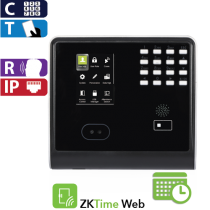 Access Control - TyA Face, Proximity and Password, Touch ZK (KF500/ID/ADMS)