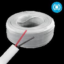 Cable Multifilar 22x2 (1par) Blanco @100mts Saxxon (OWAC2100J)