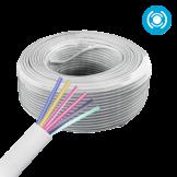 Cable Multifilar 22x6 (3pares) Blanco @100mts Saxxon (OWAC6100J)