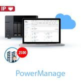 Central de Monitoreo Virtual PowerManage Tyco / DSC -  2500 Cuentas (D703774)