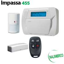 Kit de Alarma Inalámbrica IMPASSA DSC compatible Alarm.com (KIT455-SPA)