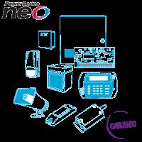 Kit de Alarma Cableado - NEO 8 Zonas DSC (Arme su Kit con o sin Sensores)