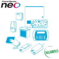 Kit de Alarma Inalámbrico - NEO 8 Zonas DSC (Arme su Kit con o sin Sensores)