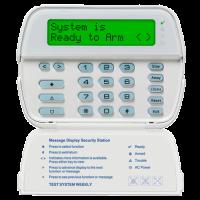 Teclado 64 Zonas LCD Alfanumérico DSC (PK5500L1)