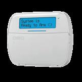 Teclado Alfanumérico Inalámbrico 128 Zonas Pro DSC (HS2LCDPRO)