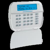 Teclado LCD alfanumérico inalámbrico bidireccional PowerG sin cables Neo - DSC (HS2LCDWF9)