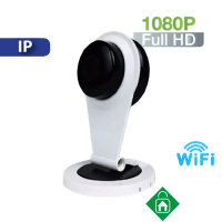 Cámara  Cubo IP Wifi para interior con Micrófono y Bocina 1080P HomeSys (VC705)