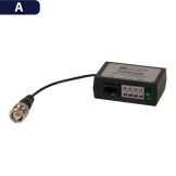 Balun Pasivo HD Multi-Formato Análogo/CVI/TVI/AHD / Par Pyxis (HUBWAYAV)