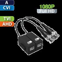 Balun Pasivo HD Multi-Formato Análogo/CVI/TVI/AHD / Par Dahua (PFM800-E)