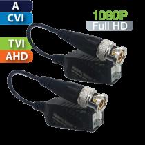 Balun Pasivo HD Multi-Formato Análogo/CVI/TVI/AHD / Par (UTP101PHD4B)