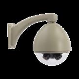Carcaza / Housing  Antivandalica con Calefactor, Ventilador y Parasol (DOME6-O-W)