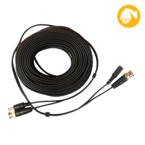 Cable Prefabricado Video/Poder 20mts Saxxon (WB0120C)