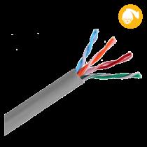 Cable UTP Cat5e Gris @305mts Saxxon (OUTP5ECCA305G)