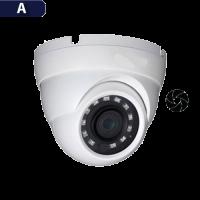 Cámara Domo Análoga Varifocal Avtech (AVK016ZN/F4F9)