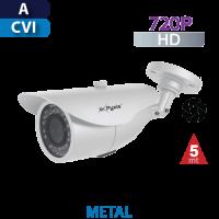 Cámara Bala IR 5mts. / Multi-Formato / 720p Varifocal Metal Pyxis (BV280IR-E6)